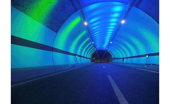 Yapımında yüzde 100 yerli ve milli kaynaklar kullanıldı! Salarha Tüneli Başkan Erdoğan'ın katılımıyla hizmete açıldı