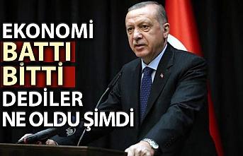 Başkan Erdoğan, ekonomi eleştirilerine cevap verdi
