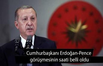 Cumhurbaşkanı Erdoğan-Pence görüşmesinin saati belli oldu