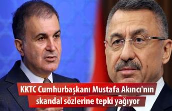 KKTC Cumhurbaşkanı Mustafa Akıncı'nın skandal sözlerine tepki yağıyor