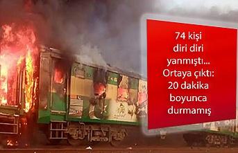 74 kişi diri diri yanmıştı... Ortaya çıktı: 20 dakika boyunca durmamış