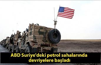ABD Suriye'deki petrol sahalarında devriyelere başladı