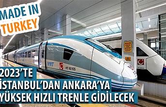 Bakan Mustafa Varank: Milli YHT prototipi 2023'te raylarda olacak