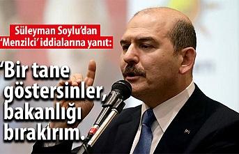 Bakan Soylu'dan çok sert açıklama: İspat ederseniz istifa ederim!