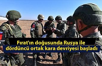 Fırat'ın doğusunda Rusya ile dördüncü ortak kara devriyesi başladı