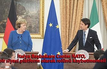İtalya Başbakanı Conte: NATO, bir siyasi platform olarak rolünü kaybetmemeli