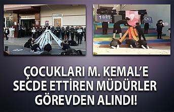 MEB'den öğrencileri M. Kemal'e secde ettiren görevliler hakkında karar