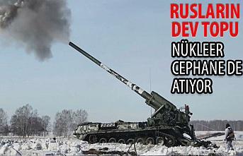 Rus ordusu, nükleer cephane kullanan dev topu test etti