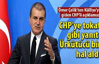 Son dakika: Ömer Çelik'ten bir CHP'linin Külliye'ye gittiği iddiaları ile ilgili açıklama!