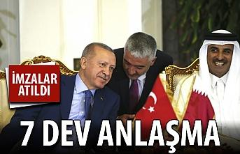 Türkiye ile Katar arasında 7 dev anlaşma!
