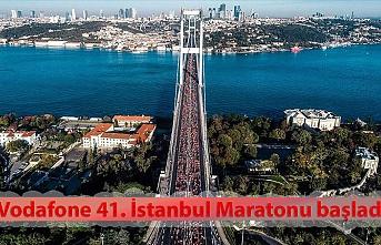 Vodafone 41. İstanbul Maratonu başladı