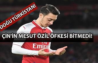 Çin'in Mesut Özil öfkesi bitmedi: Sildiler