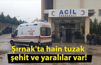 Şırnak'ta hain tuzak şehit ve yaralılar var!