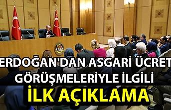 Son dakika: Erdoğan'dan asgari ücret görüşmeleriyle ilgili ilk açıklama: Jestimizi yaparız