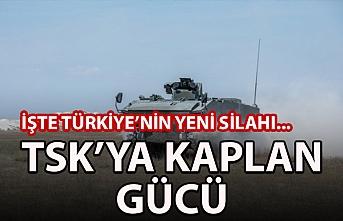 TSK'ya Kaplan gücü! İşte Türkiye'nin yeni silahı