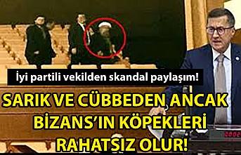 Türkkan'ın 'kim bu sarıklı' dediği kişi şehit babası çıktı