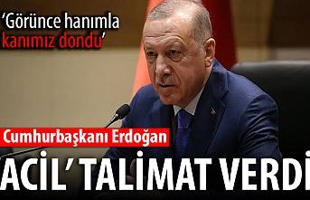 Başkan Erdoğan, duyar duymaz talimat verdi