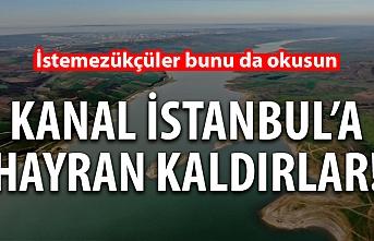 Kanal İstanbul'a hayran kaldılar! İstemezükçüler bunu da okusun