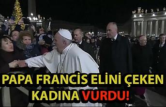 Papa Francis elini çeken kadına tepki gösterdi