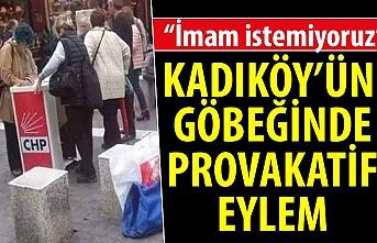 Kadıköy'ün göbeğinde provakatif eylem