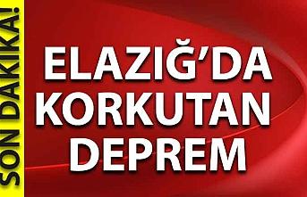 Son Dakika... Elazığ'da korkutan deprem!