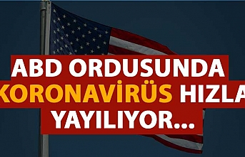 ABD ordusunda koronavirüs hızla yayılıyor