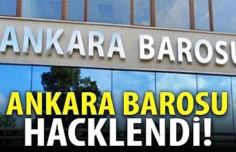 Ankara Barosu hacklendi! Dikkat çeken mesaj