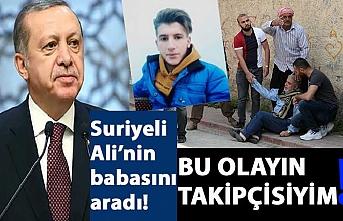 Cumhurbaşkanı Erdoğan, Suriyeli gencin ailesiyle görüştü