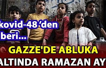 Gazze'de abluka altında Ramazan ayı