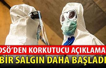 İnsanoğlu koronavirüs ile boğuşurken DSÖ açıkladı: Bir salgın daha başladı