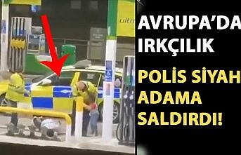 Siyahi adam polisler tarafından ırkçı saldırıya uğradı!