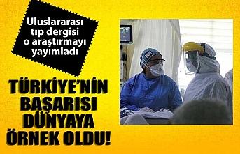 Türkiye'nin corona virüsle başarısı dünyaya örnek oldu!.
