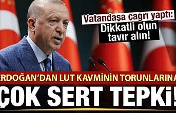 Başkan Erdoğan'dan LGBT sapkınlığıyla ilgili açıklama.