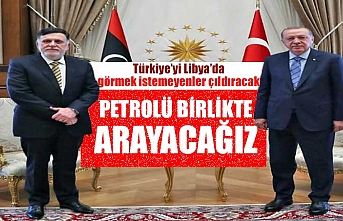 Türkiye ile Libya petrolü birlikte arayacak