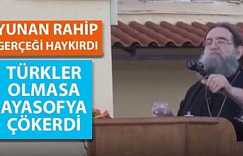 Yunan rahip Papanikolaou'dan bomba Ayasofya çıkışı!