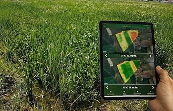 Çiftçiler tarlalarını artık cepten takip edebilecek