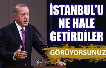 Erdoğan, CHP'nin belediyecilik anlayışını eleştirdi