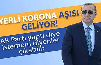 Erdoğan yerli korona aşısıyla ilgili bilgi verdi