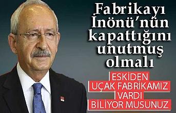 Kemal Kılıçdaroğlu Türkiye'nin ilk uçak fabrikası hakkında konuştu