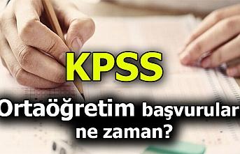 2020 Ortaöğretim KPSS başvuruları yaklaşıyor