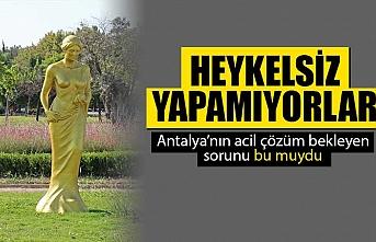 Antalya Altın Portakal Film Festivali için 57 Venüs heykeli dikildi