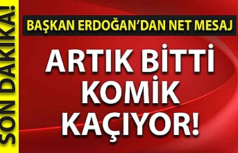Başkan Erdoğan'dan çok net Akdeniz mesajı: Artık bıktık!
