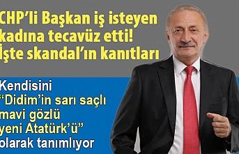 CHP'li Didim Belediye Başkanı Ahmet Deniz Atabay iş isteyen kadına tecavüz etti iddiası!