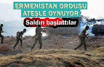 Ermenistan ordusu ateşle oynuyor: Azerbaycan'a geniş çaplı saldırı başlattılar