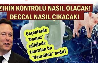 """Geçenlerde 'Domuz' eşliğinde tanıtılan bu """"Neuralink"""" nedir!"""