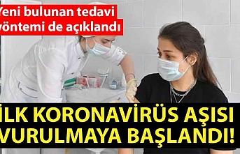 İlk koronavirüs aşısı vurulmaya başlandı!