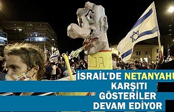İsrail'de Netanyahu karşıtı gösteriler tüm hızıyla sürüyor