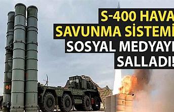 S-400 hava savunma sistemi sosyal medyayı salladı!