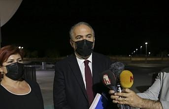 Sağlık Bakanı Koca TTB Merkez Konseyi Başkanı Sinan Adıyaman'ı kabul etti