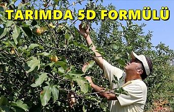Tarımda kimyasal ilaçların kullanımını azaltmak için '5D formülünü' geliştirdi